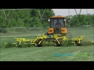SagamaGreen. Процесс кошения газона.