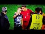 Криштиану Роналду защитил болельщика и сфоткался после неудачного матча на Евро