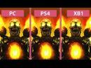 DOOM – PC Max vs. PS4 vs. Xbox One Graphics Comparison