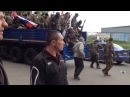 Донецк 09.05.14. Батальон Восток разоружил 120 нацгвардов/Disarm Kiev Guard, Donetsk