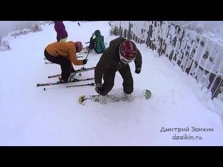 Открытие сезона 2015-2016 горнолыжный курорт Банное