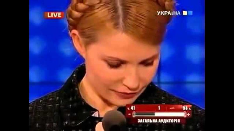 Инна Богословская вскрывает масти Тимошенко но той хоть ссы в глаза говорит Божья роса