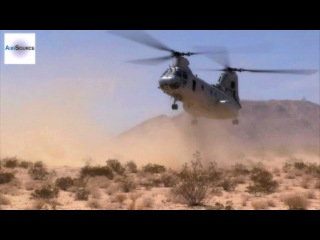 Low Level Static Line Jumps - U.S. Marines, CH-46E Sea Knight Helicopter