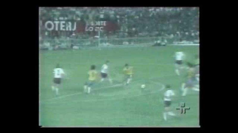 Amistoso 1982: Brasil 1x0 Alemanha Ocidental