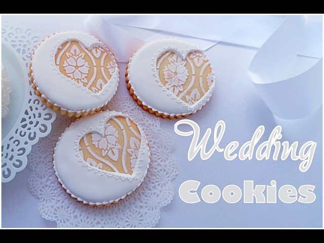 Beautiful wedding cookies💍My little bakery.