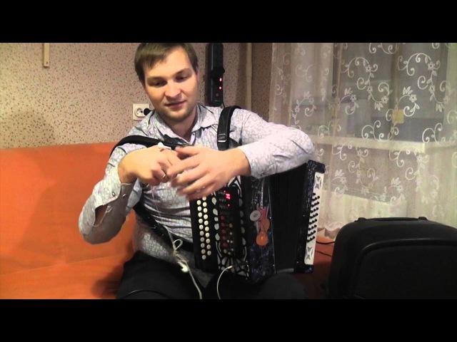 Миди-гармонь/midi accordion Russia Тульская 301 м (без голосов)