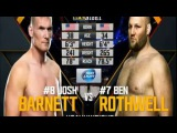 Джош Барнетт Бен Ротуэлл - Полный бой -- Josh Barnett vs Ben Rothwell - Full Fight 30.01.2016