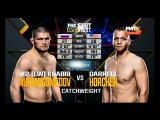 Khabib Nurmagomedov vs Darrell Horcher - Full Fight / Хабиб Нурмагомедов – Дэррелл Хорчер - Полный бой