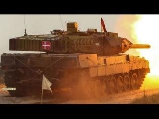 Превосходство НАТО / Танки Leopard 2A5 & M1A2 Abrams в Дании