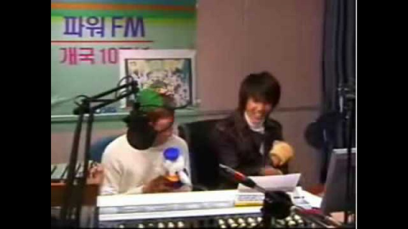 SS501 Youngstreet radio (dance to Baby VOX Re.V Shee)