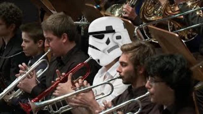 John Williams - Star Wars The Throne Room. The Force Awakens Tribute Performance. Звездные войны