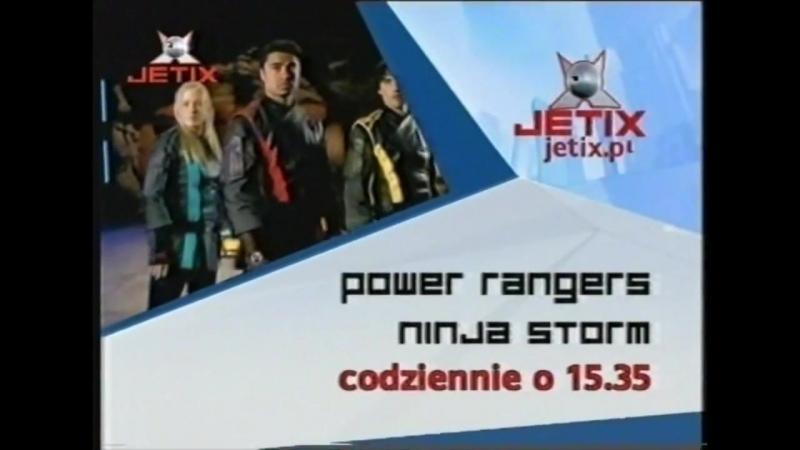 Jetix - Zapowiedzi, bloki reklamowe, konkursy, identy i loga z 2005 roku