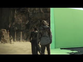 Хроники Шаннары / The Shannara Chronicles.1 сезон.Видео о создании спецэффектов (2016) [HD]