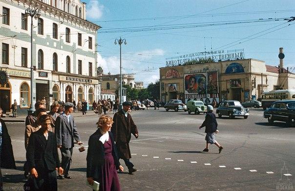 В Москве, 1958 год