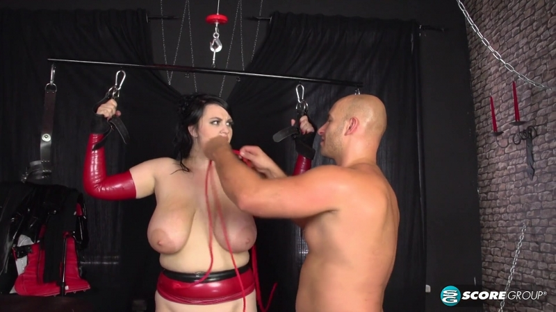 Busty Slut In Bondage Gets Banged