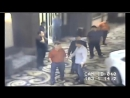 Муж Баян Есентаевой избивает  людей