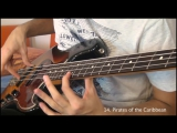 30 тем из фильмов на бас-гитаре