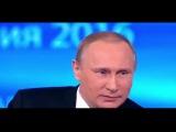 САМЫЙ СМЕШНОЙ Вопрос Путину от 12 летней девочки , Прямая линия с Владимиром Путиным 2016