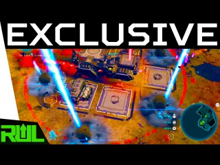 HALO WARS 2 CAMPAIGN GAMEPLAY | EXCLUSIVE BEHIND CLOSED DOORS MISSION