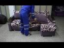 Угловой диван Орион Тик-так Металлокаркас