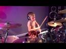 Budak 6 Tahun Main Dram Lagu Metallica