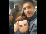 "Gary Barlow FanPage ǂ⃝⃝⃝⃝ on Instagram: ""Gary is holding the pillow doll I gave him, he keeps it in his arms since I gave it to him 😂😂 and said he would definitely  keep it... I…"""