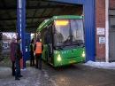 Первые автобусы из новой партии выехали на улицы города