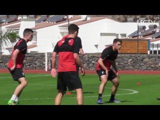 Watch the Reds with Jurgen Klopp train in Tenerife