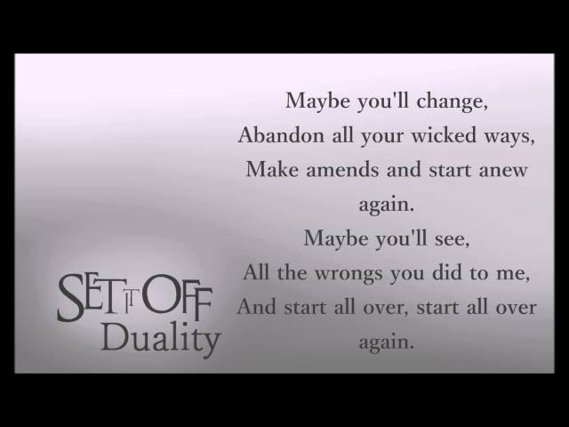 Set It Off - Wolf In Sheep's Clothing (feat. William Beckett) [Lyric's]