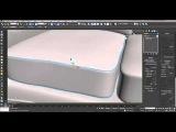 Как создать внешний шов на подушке в 3Ds Max? Уроки 3Ds Max