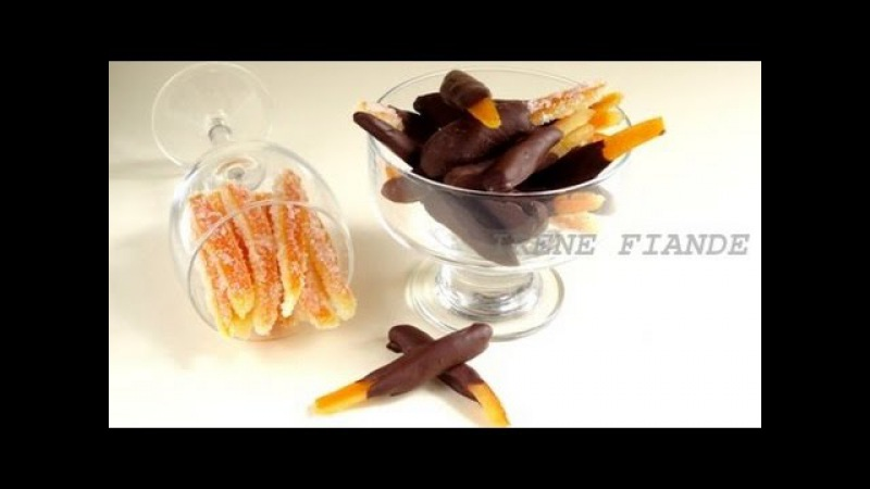 Апельсиновые цукаты.Самые вкусные апельсиновые корочки в шоколаде
