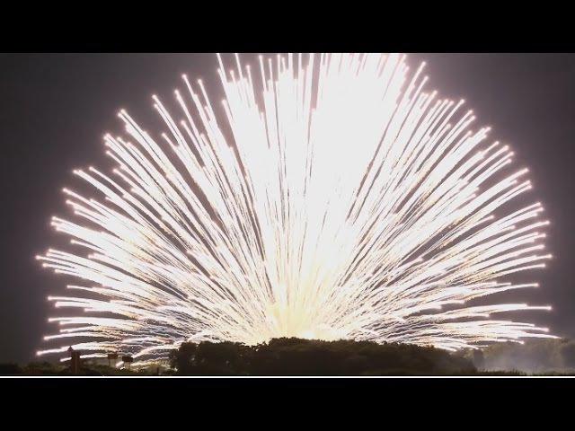 長岡花火2016、三尺玉を八発集録・ 二日間の正三尺玉 4ch録音・5 1chサラウ 1