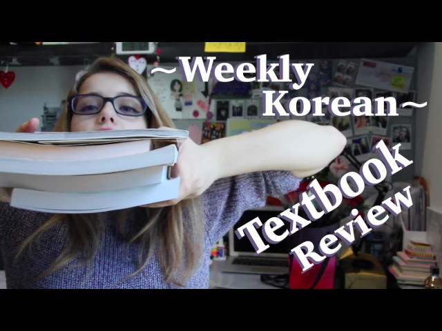 ~Weekly Korean~ Episode 18 Korean Textbooks Review
