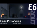 Making Your First Game: Unity 3D Zombie Shooter Platformer - Animated Sneak