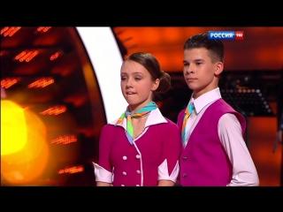 Екатерина Старшова/ Влад Кожевников / Наталья Сидорцова (вокал), (Танцы со звездами 2016 HD).