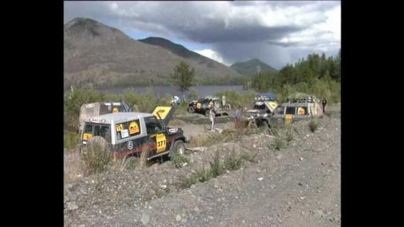 Подготовка к автомобильной экспедиции от Тихого до Ледовитого океана шинтоп трофи 2010 ч1