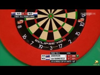 Australia vs Netherlands (PDC World Cup of Darts 2016 / Quarter Final)
