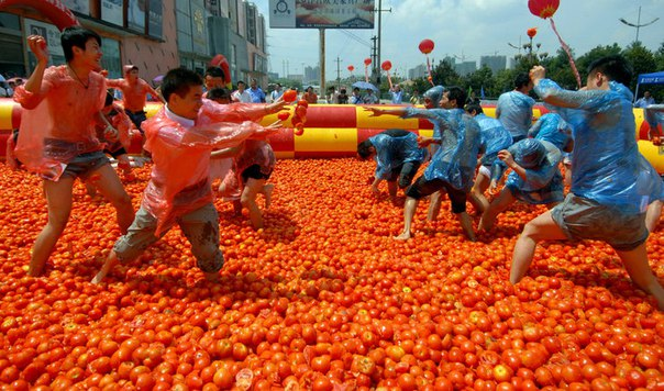 La Tomatina - Помидорная битва