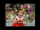 Северокорейские дети поют песни про США. Мир может спать спокойно)))