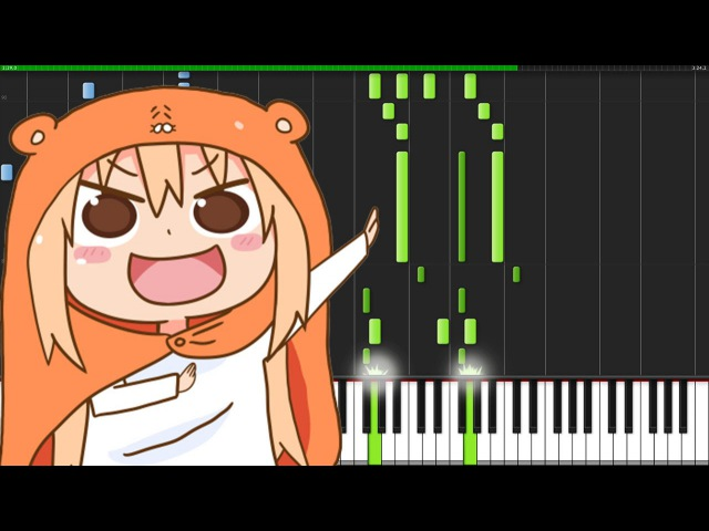 Kakushinteki☆Metamaruphose! - Himouto Umaru-Chan (Opening) [Piano Tutorial] The Piano Devil