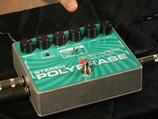 Stereo Polyphase - Demo by Dan Miller - Analog Optical Envelope/ LFO Phase Shifter
