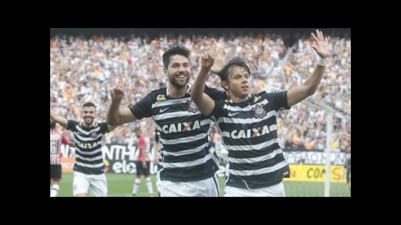 Corinthians 6 x 1 São Paulo - Melhores Momentos - GOLEADA HISTÓRICA - Brasileirão 22/11/2015