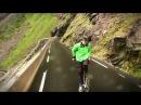 Eskil禅 riding a bike backwards at 80 km/h (top speed) Trollstigen