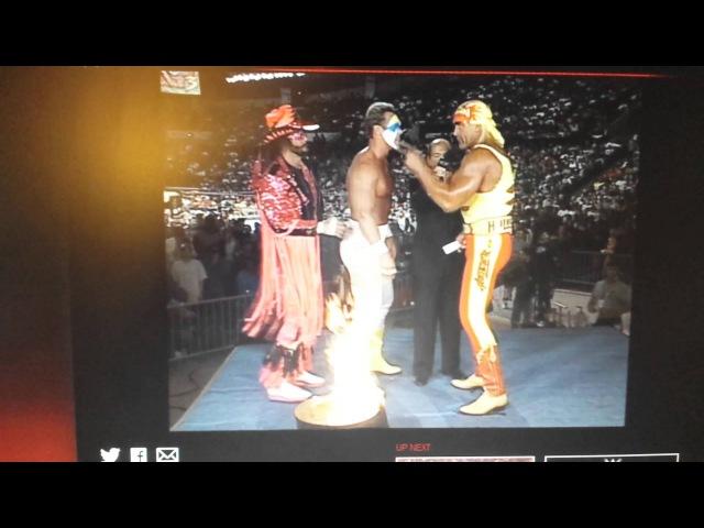 WCW-World War 3 PPV 1995-Hulk Hogan-Sting-Macho Man