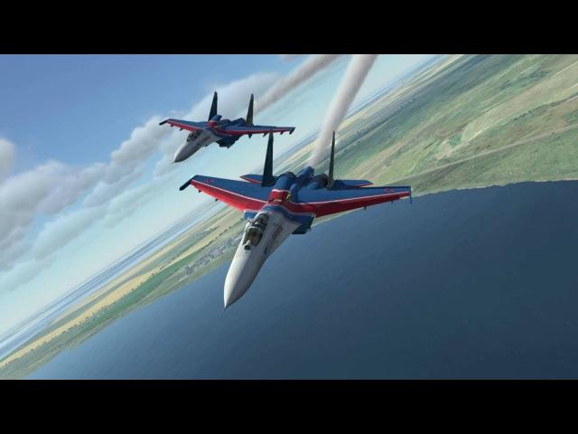 DCS World Y2K - Су-27 - Training pair flight (04)