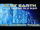 FLAT EARTH - 1000 YEARS OLD MAP Shows MORE Land Beyond ANTARTICA EdgeIce Wall - Honolulu Map