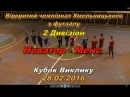 «Новатор» - «Менс» - 3:4 (1:1), Дивізіон 2, Кубок Виклику, (28.02.2016) Огляд матчу