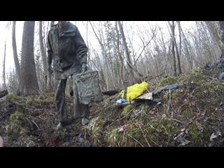ML22 Раскопки немецкого блиндажа WW2 dugout excavations HD SUB