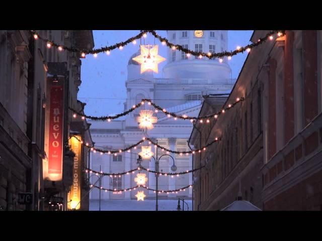 Winter Helsinki Christmas Helsinki in Finland - tourism - Helsingin joulu talvi - Suomi