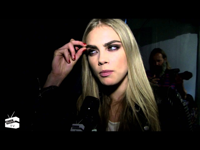 Model Moment: We catch up with the BFA's 'Model of the Year' Cara Delevingne | NET-A-PORTER.COM